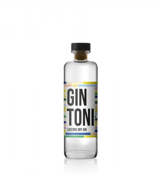 GIN TONI Lucerne Dry Gin 50 cl / 40 % Schweiz