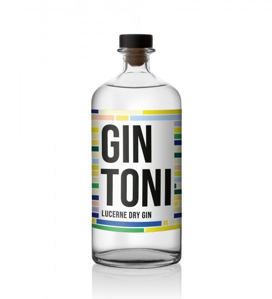 GIN TONI Lucerne Dry Gin DOPPELMAGNUM 3 Liter / 40 % Schweiz