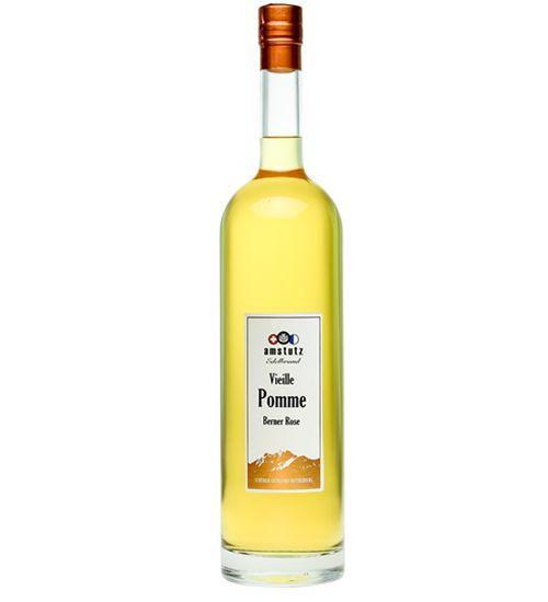 amstutz Edelbrand VIELLE POMME Berner Rose Goldprämiert MAGNUM Flasche 1.5 Liter / 40 % Schweiz